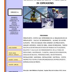 brochure de analisis de costo