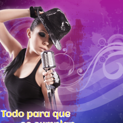 flayer karaoke y disco