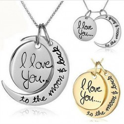 New-Arrival-I-Love-You-To-The-Moon-and-Back-font-b-Pendant-b-font-font