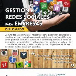 Gestión de Redes Sociales para Empresas 2018