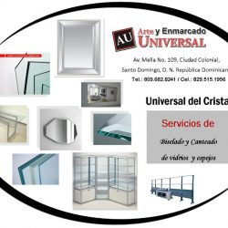flyer universal del cristal