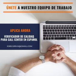 VERIFICADOR DE CALIDAD PARA CALL CENTER EN ESPAÑOL (9)